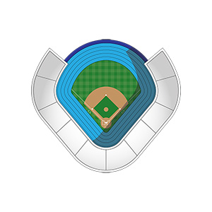 Baseball Stadium Illustration