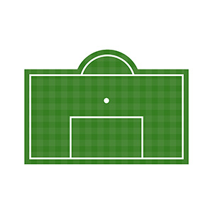 Football Penalty Area Illustration