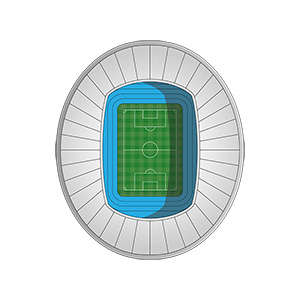 Football Stadium Illustration