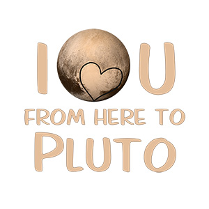 From Here To Pluto Typography Design