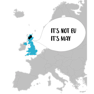 It's Not EU It's May Illustration