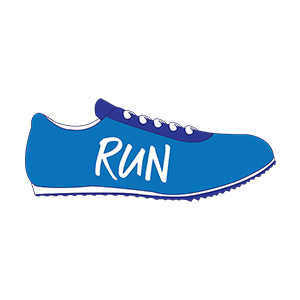 Running Shoes Illustration