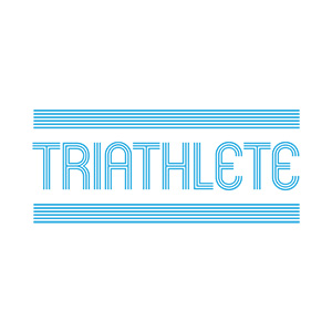 Triathlete Typography Design